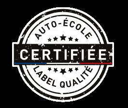 Label Concept Conduite auto-école certifiée