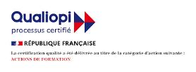 Logo du processus certifié Qualiopi